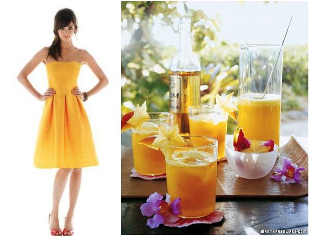 ... Pineapple and Mango Rum cocktail. FUN!!! @bevmoweddings @