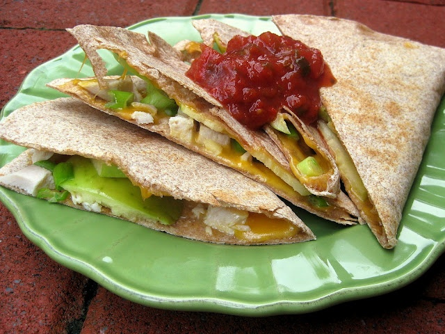 quesadilla asian quesadilla with chicken zucchini hoisin sauce ...