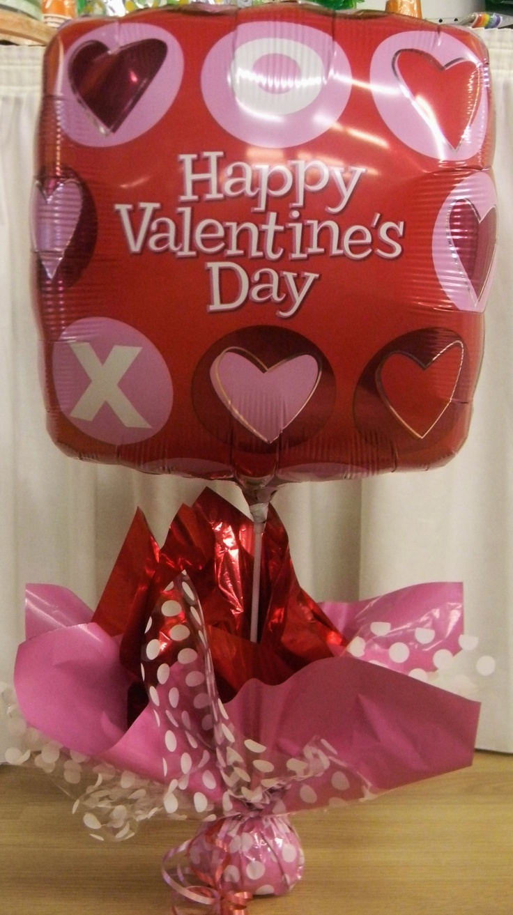valentine's day balloon decoration