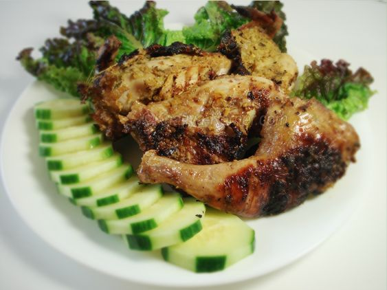 Grilled Lemongrass Chicken | All Things Khmer! | Pinterest