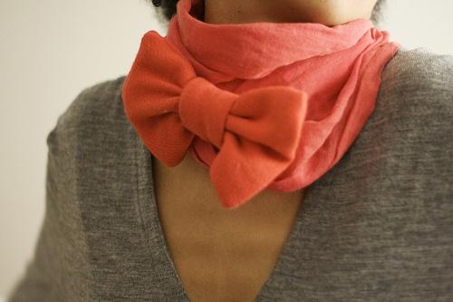 foulard noeud