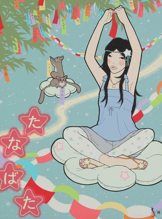 tanabata drawing