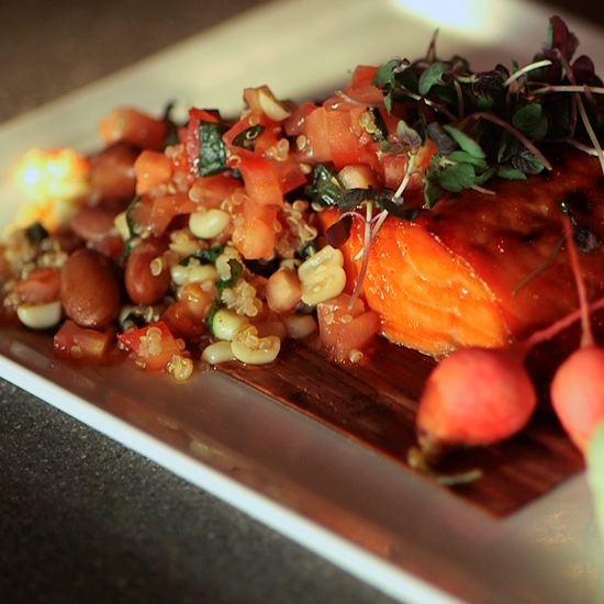 ... seared salmon http whiteonricecouple com recipes asian glazed salmon