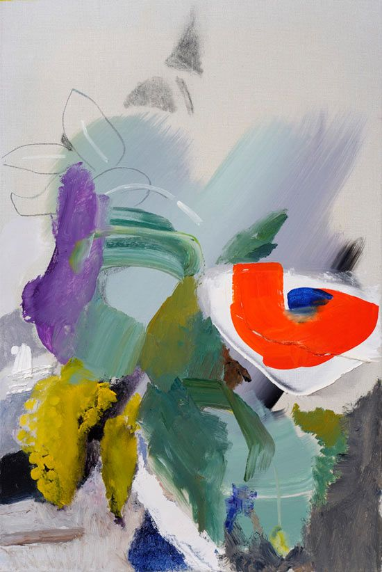 Ivon Hitchens  Summer Flowers in a Vase circa 1960