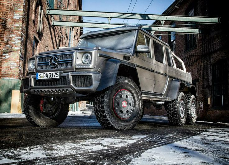 mercedes benz g wagon 6x6 cool cars motorcycles