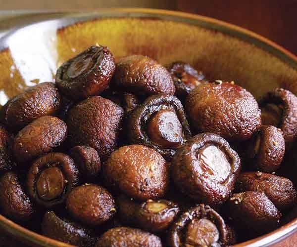 Basic Roasted Mushrooms // virgin olive oil, salt, black pepper ...