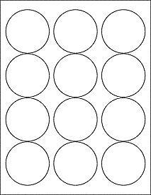 "... mason jars - 2 5"" Round Blank White Stickers Labels Circle Can Jar"