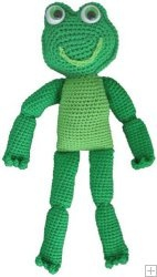 Don't Frog that Frog: 10 Free Crochet Frog Patterns! - moogly