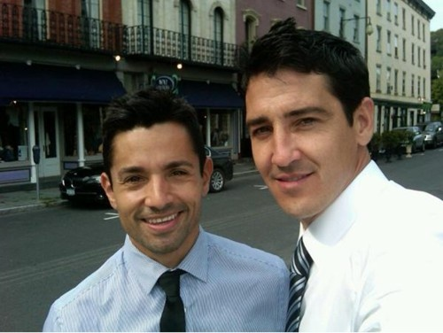 Jonathan Knight and his boyfriend Freund Harley Rodriguez ...