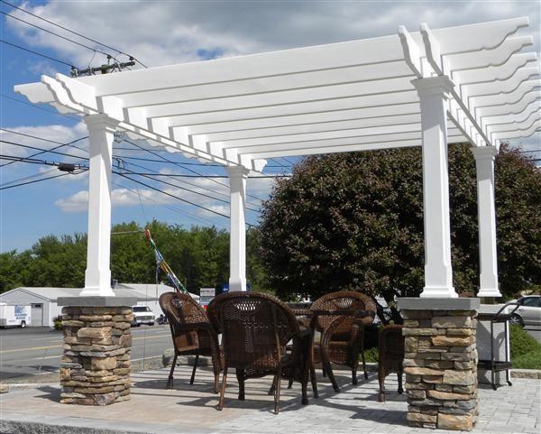More like this: white pergola , pergolas and outdoor living .