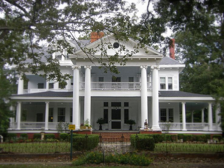 Southern House Southern Plantation Homes Pinterest