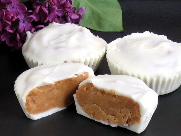 White Chocolate Peanut Butter Cups — | Candy is Dandy | Pinterest