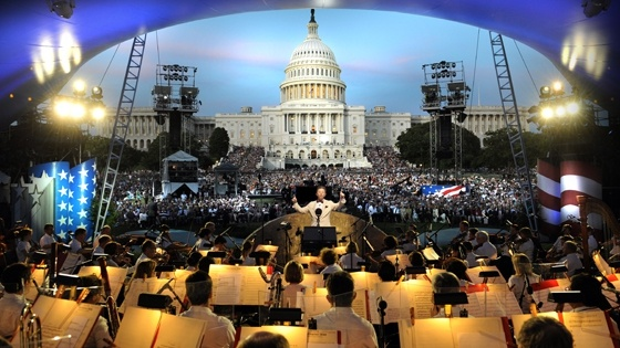 memorial day concert on the mall rehearsal