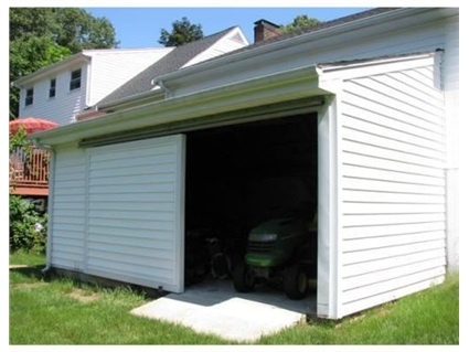 Sliding Doors On Garage Lean To Garage Mahal Pinterest