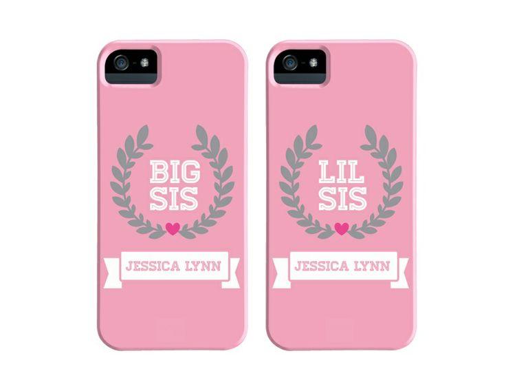 Big Sis u0026 Lil Sis matching phone cases at greekgirlshop.com
