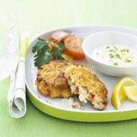 Crispy Shrimp Cakes - Easy Dinner Recipes - Seafood Recipes - Delish ...