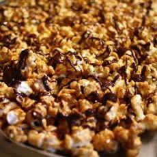 Caramel Chocolate Corn | Desserts | Pinterest