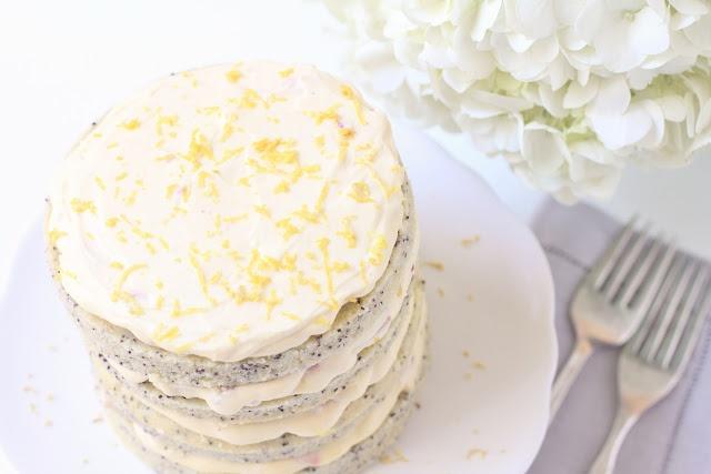 Lemon Poppy seed cake... another cake idea for yara's lemon & lime ...