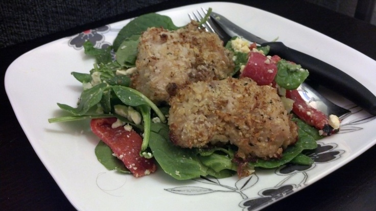 Breaded Chicken Thighs Plus Provencal Salad... This rib-sticking salad ...