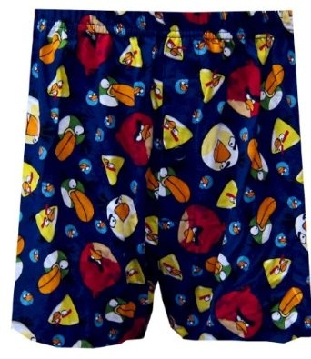 Angry Birds Ready To Attack Boxer Shorts for men.