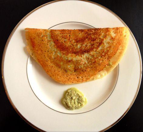 ... Mysore Masala Dosa - a delicate rice and lentil crepe #BigAppleCurry