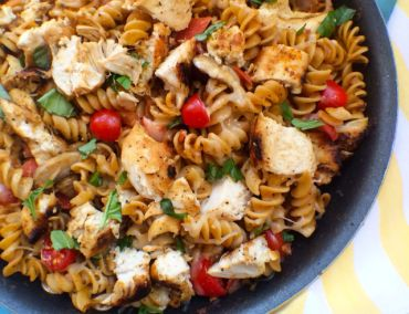Grilled Chicken Tomato Basil Pasta | Recipes | Pinterest
