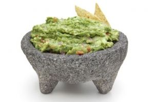 Avocados are a heart healthy treat, and what better way to get them in than through a delicious guacamole?