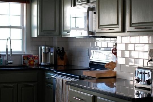 Olive Green Kitchen Cabinets  Dream kitchen remodel  Pinterest