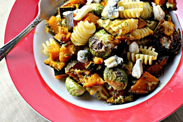 Thanksgiving - Pasta with Sage-Walnut Pesto, Winter Squash, and ...