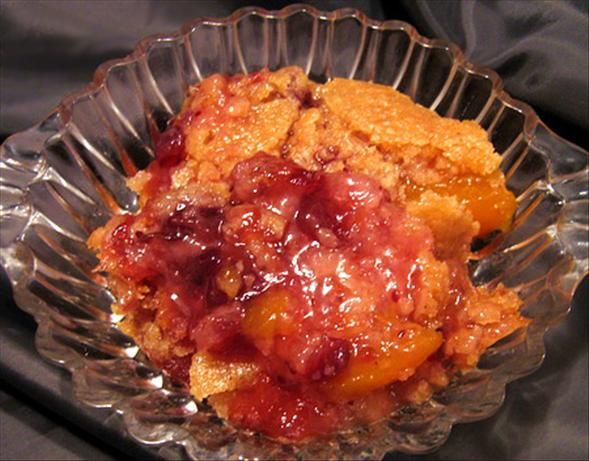 Thanksgiving Cranberry Peach Cobbler from Food.com: I received this ...