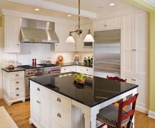 full height cabinets cabinets around fridge