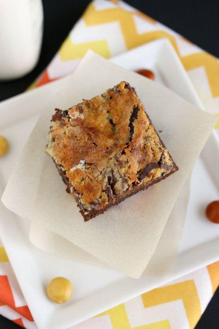 Cheesecake-Marbled Brownies | sweet treats | Pinterest