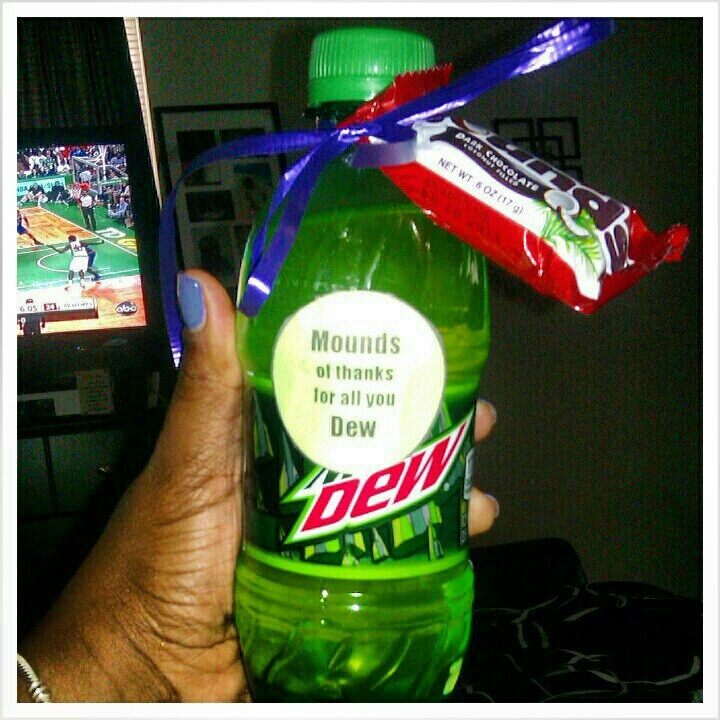 Mounds of Thanks for All You Dew