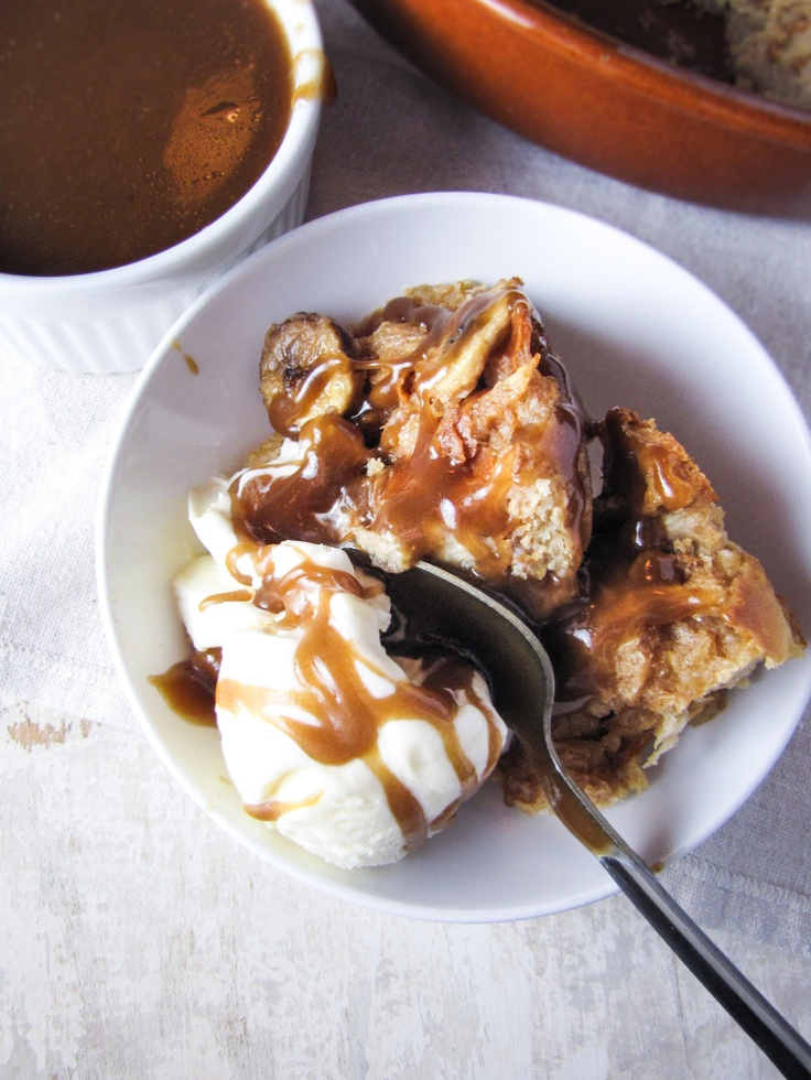 Caramel-Banana Bread Pudding | Yum (Just Desserts: Bread Pudding & Th ...