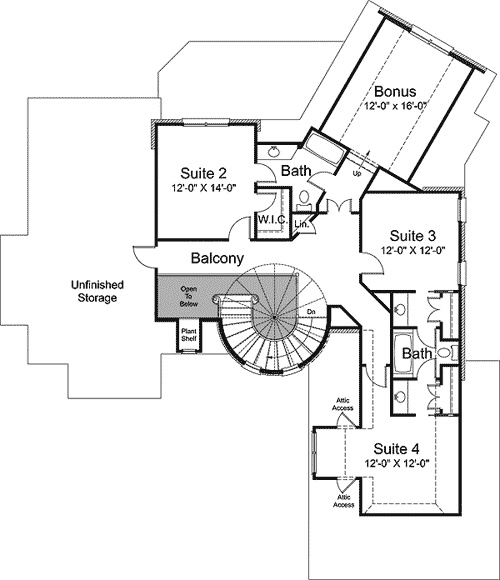 Plan W29503nt Fairy Tale Home Plan A Little House Of