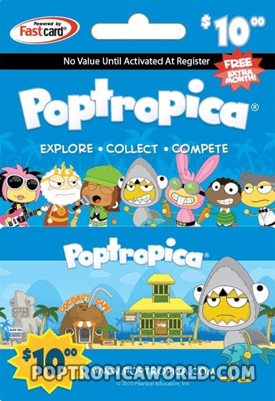 Poptropica Free Membership Giveaway!