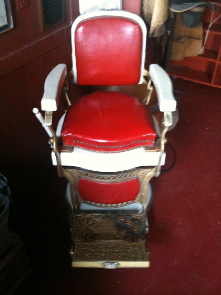 antique barber chair ANTIQUES