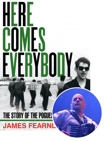 @Mary O'Connor Pogues Founder James Fearnley Introduces Memoir