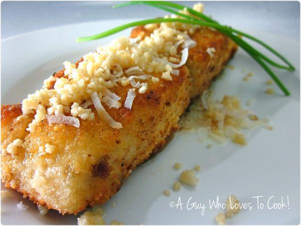 Macadamia crusted mahimahi | Fish and Seafood | Pinterest