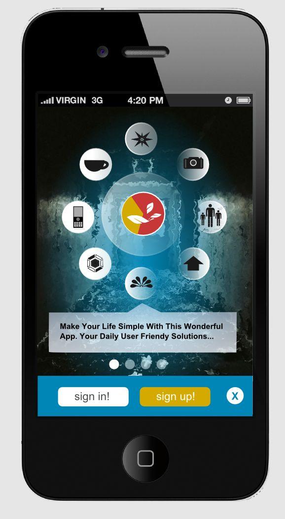 37faec18a9fc77e42c7f8287ebc9cb48 国外30个优秀移动APP UI界面设计的灵感分享