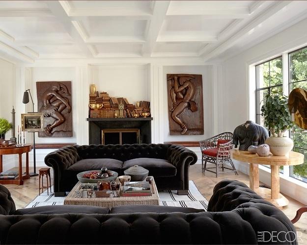 Elle Decor Living Room Pinterest