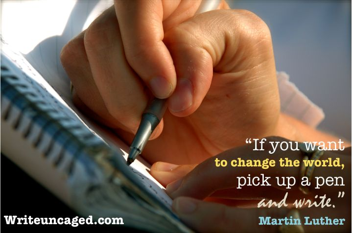 So very true. Writers have the capacity to change the world.