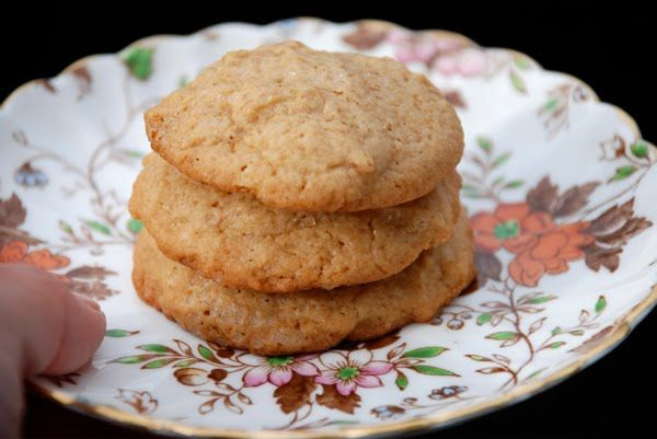 White Chocolate Citrus Spice Eggnog Cookies Recipe — Dishmaps
