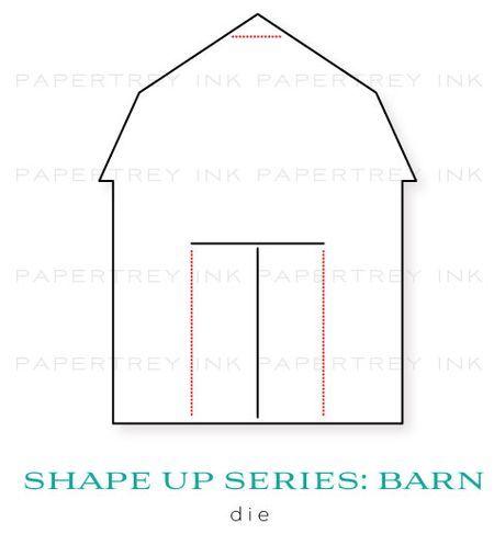 Barn template | Birthday Party Ideas | Pinterest