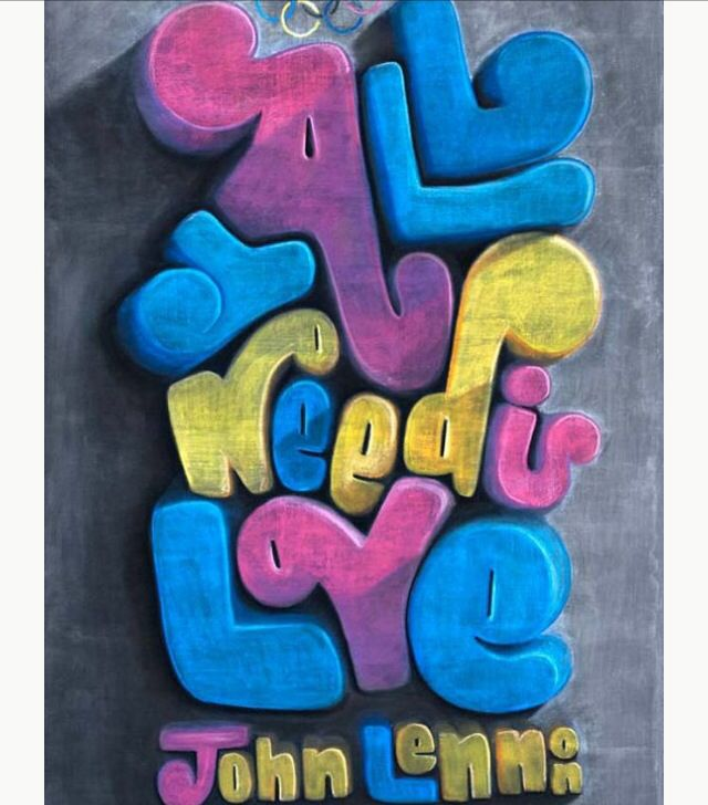 All you need is love | Frases | Pinterest