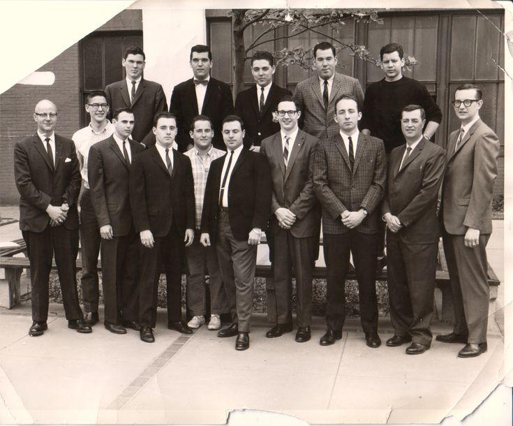 Ad men, NYC 1960