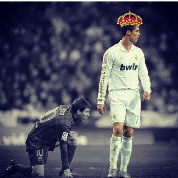 Cristiano Ronaldo is king. #realmadrid | Real Madrid | Pinterest