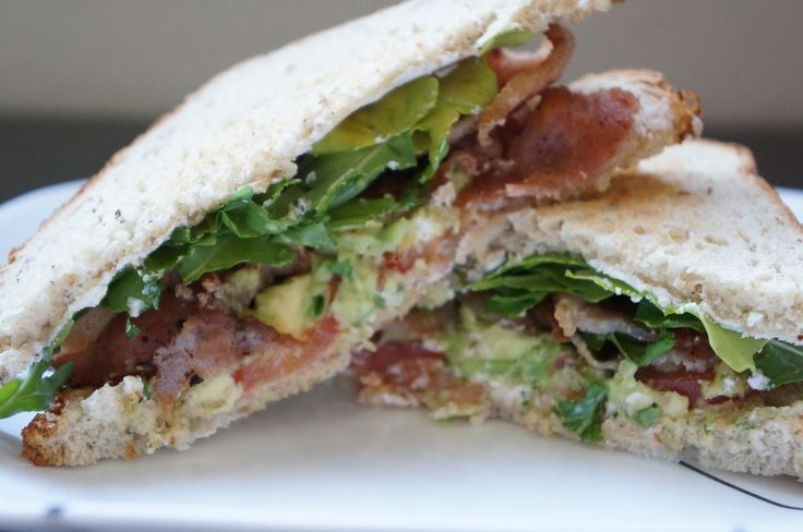 BTGAA...Bacon, Tomato, Goat cheese, Arugula, Avocado