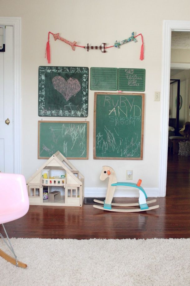 Alternative to chalk board paint for the home pinterest - Alternatives to painting walls ...