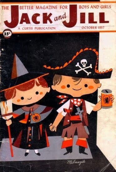 Jack and Jill Magazine-October, 1957